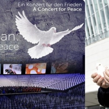 "Concert for Peace am 02.11. in Berlin - ""The Armed Man – A Mass for Peace"" mit 2000 Chorsängern aus 27 Ländern"